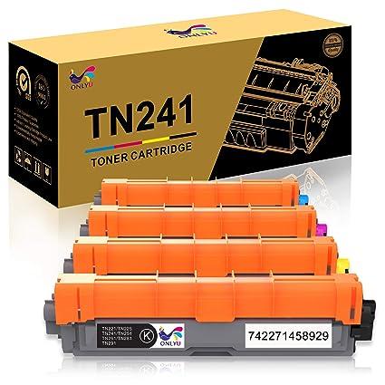 ONLYU TN241 TN245 Compatible Para Brother HL-3140CW HL-3150CDW HL ...