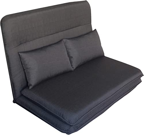 Harper Bright Designs Folding Lazy Sofa Floor Chaise Lounge Chair Futon