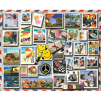 White Mountain Puzzles America Smiles Jigsaw Puzzle - 1000 Piece Jigsaw Puzzle: Toys & Games