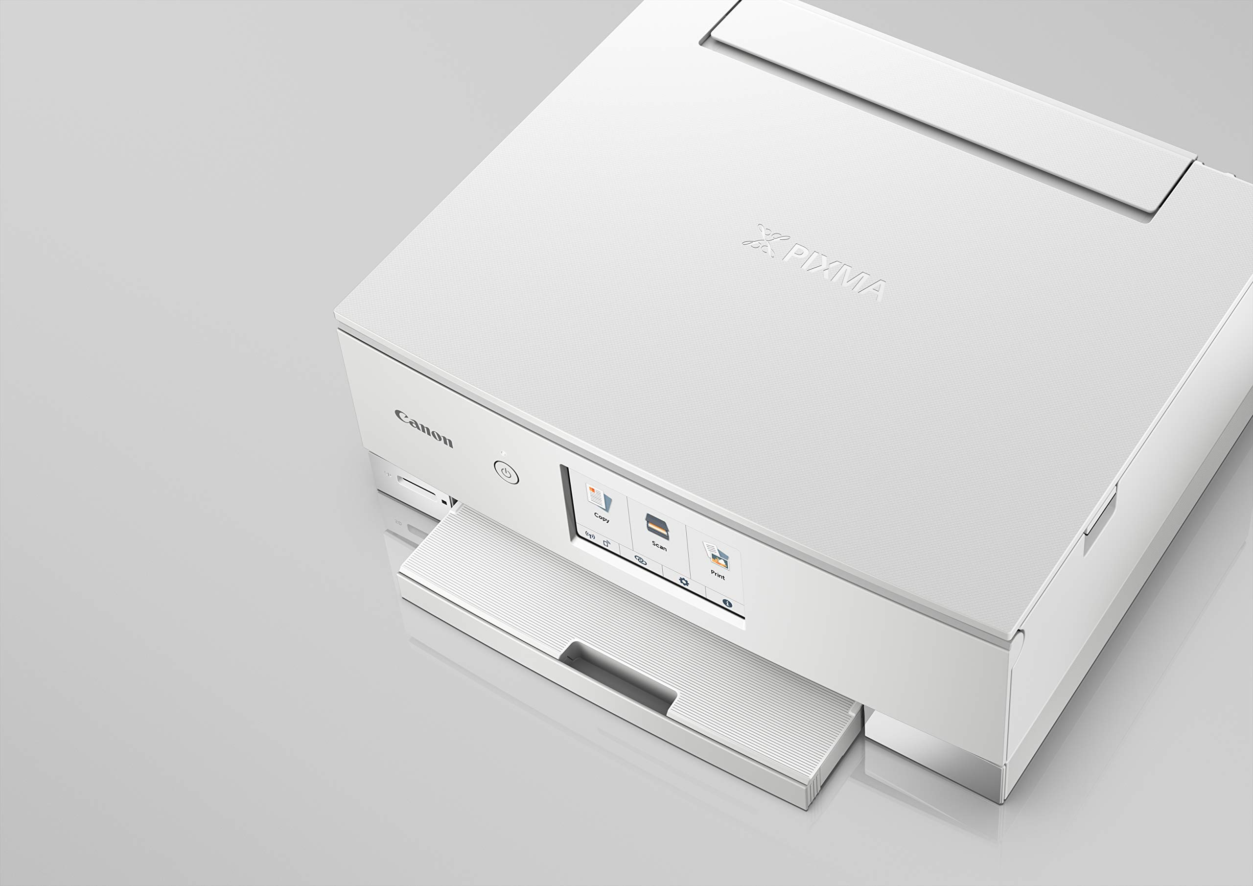 Canon TS8220 Wireless All in One Photo Printer with Scannier and Copier, Mobile Printing, White by Canon (Image #8)