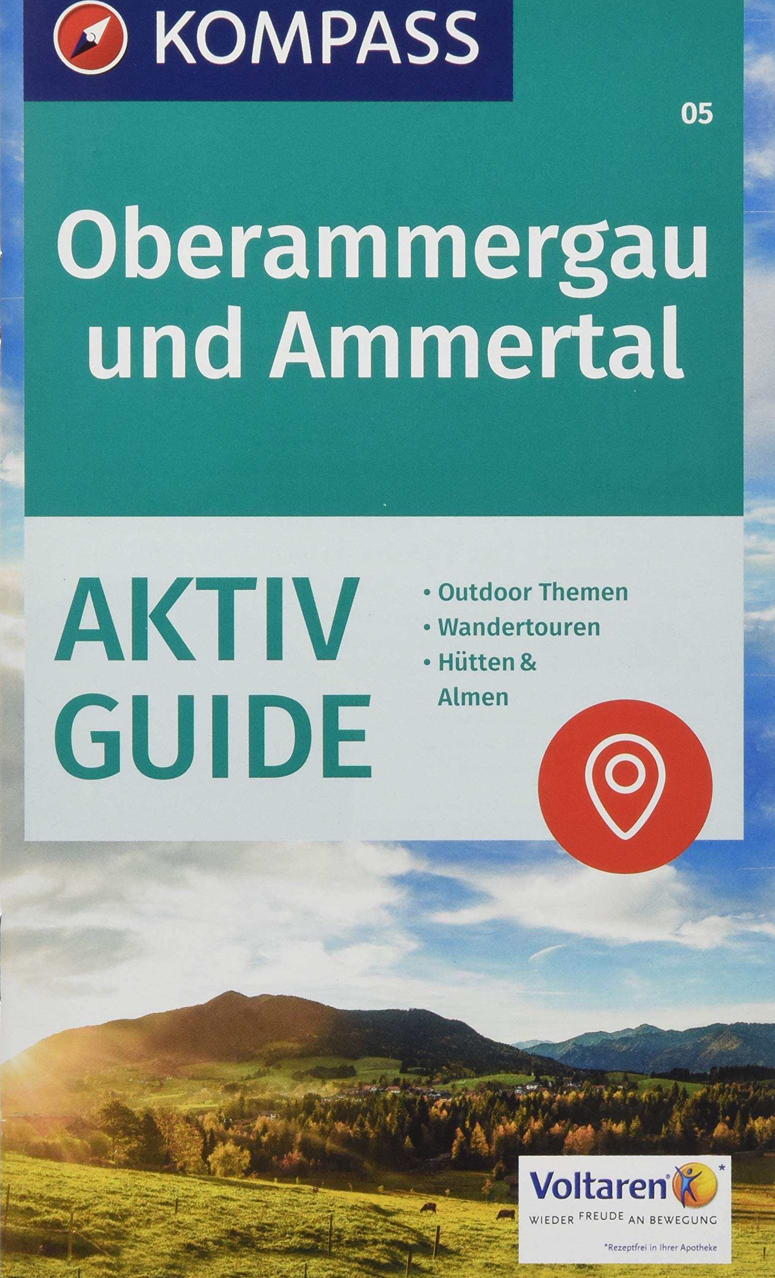 Kompass Wanderkarte Oberammergau Und Ammertal 3in1 Wanderkarte 1