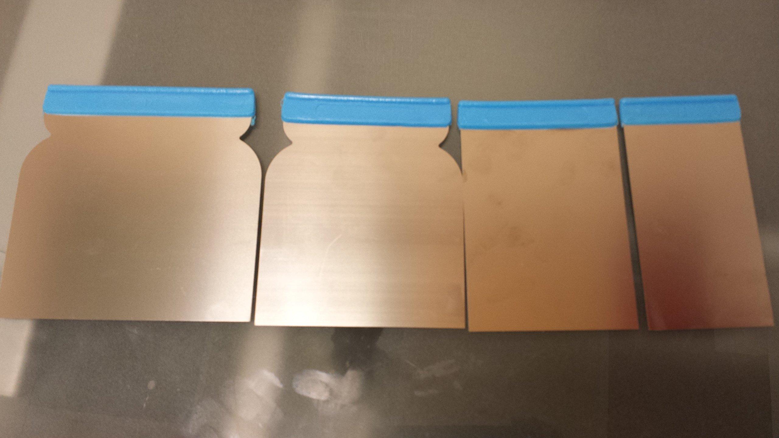 Japanese Knife Spatula Scraper Kit Venetian plaster spatulas set of 4