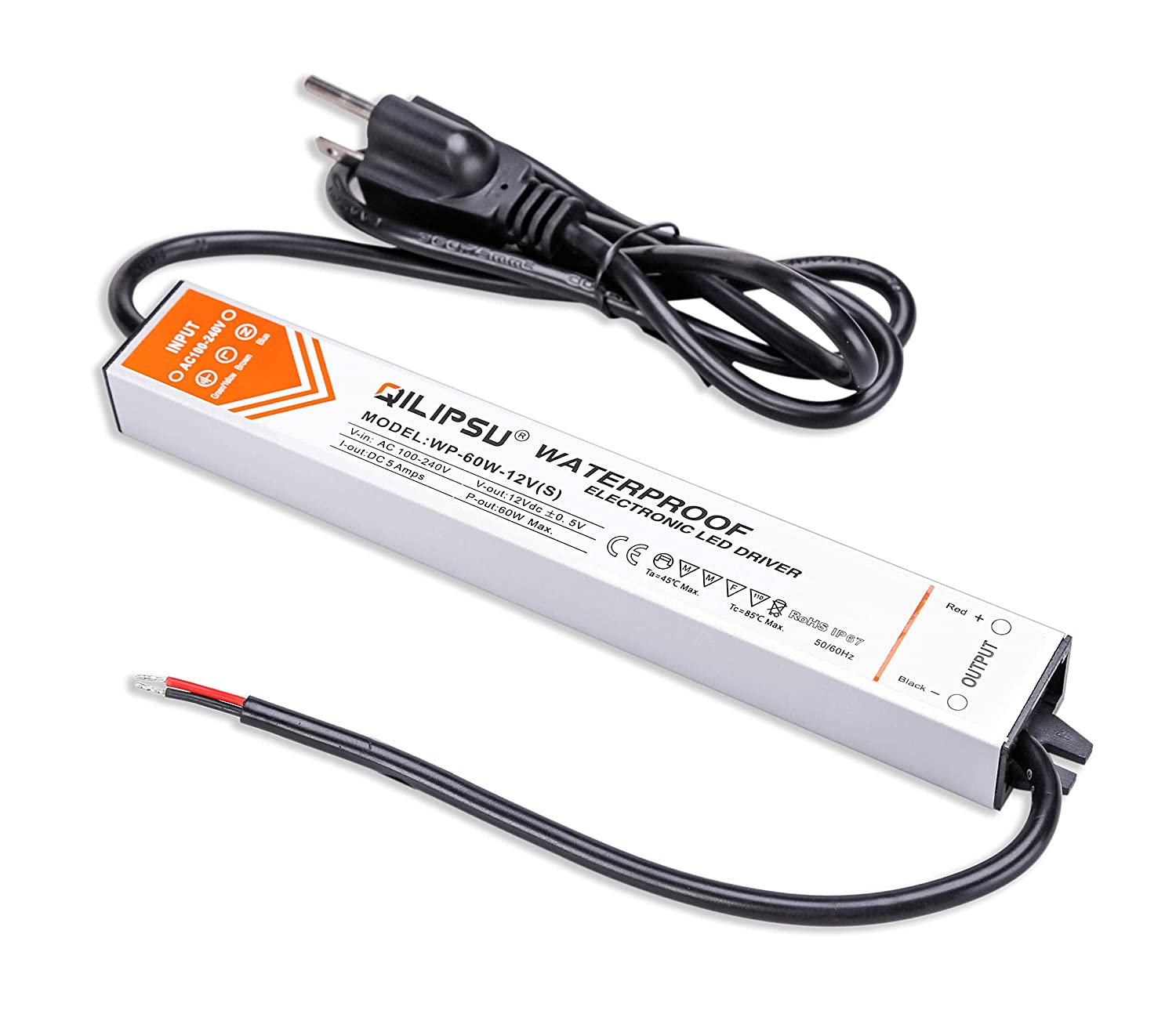 Qili Power Wiring Diagram Libraries Laptop Supply Schematic Likewise Simple Inverter Circuit Libraryqilipsu 30w 12v Led Driver Ip67 Waterproof