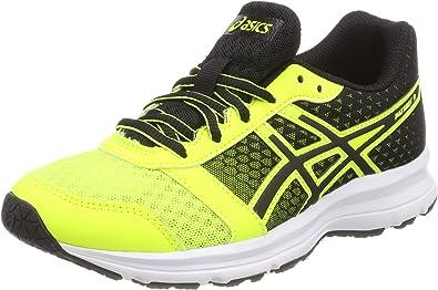 Asics Patriot 9 GS, Zapatillas de Running para Niños, Multicolor (Safety Yellowblackwhite), 33.5 EU: Amazon.es: Zapatos y complementos