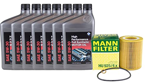 BMW Kit de cambio de aceite, para Select BMW SERIE 3, Serie 5, X3, X5, Z3, ...