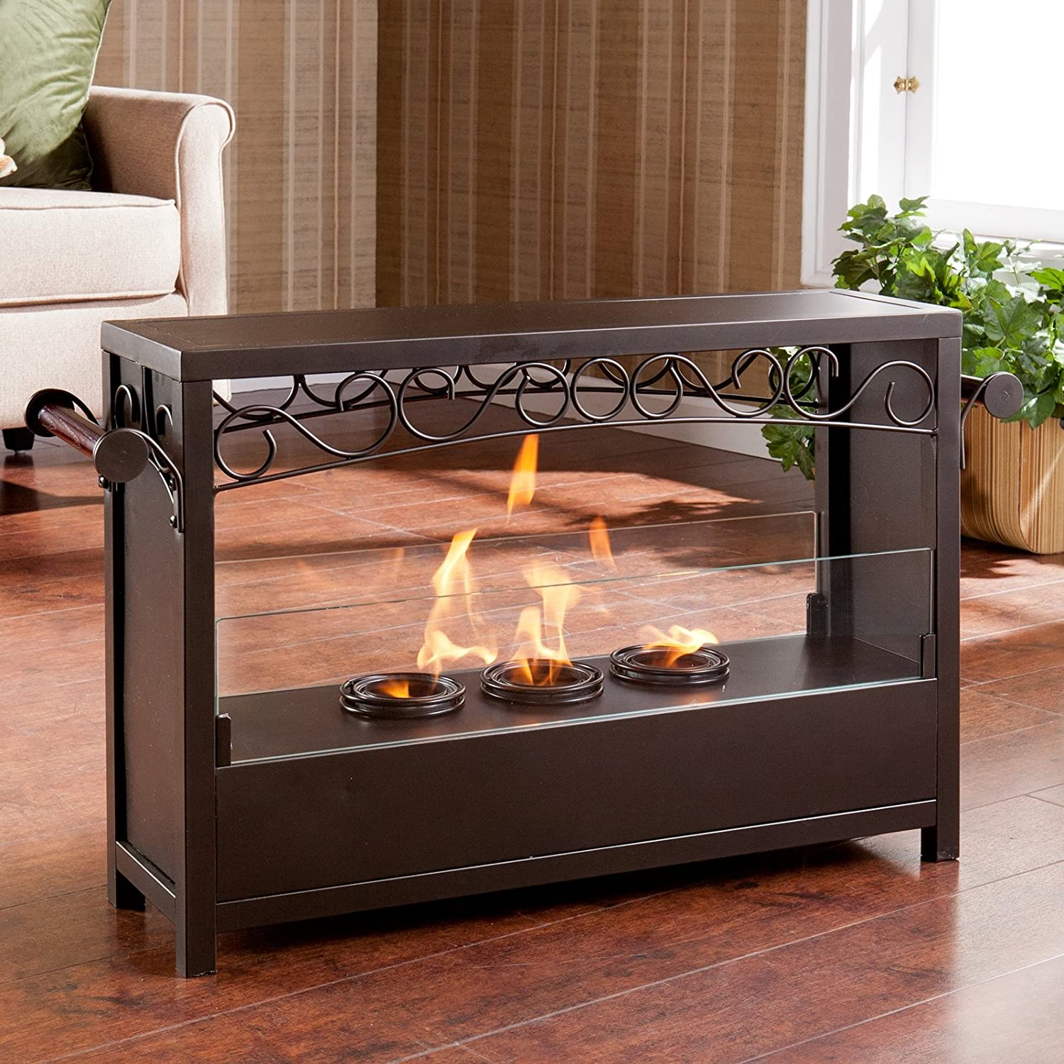 Amazon.com: SEI AMZ1485 Acosta Portable Indoor/Outdoor Fireplace ...