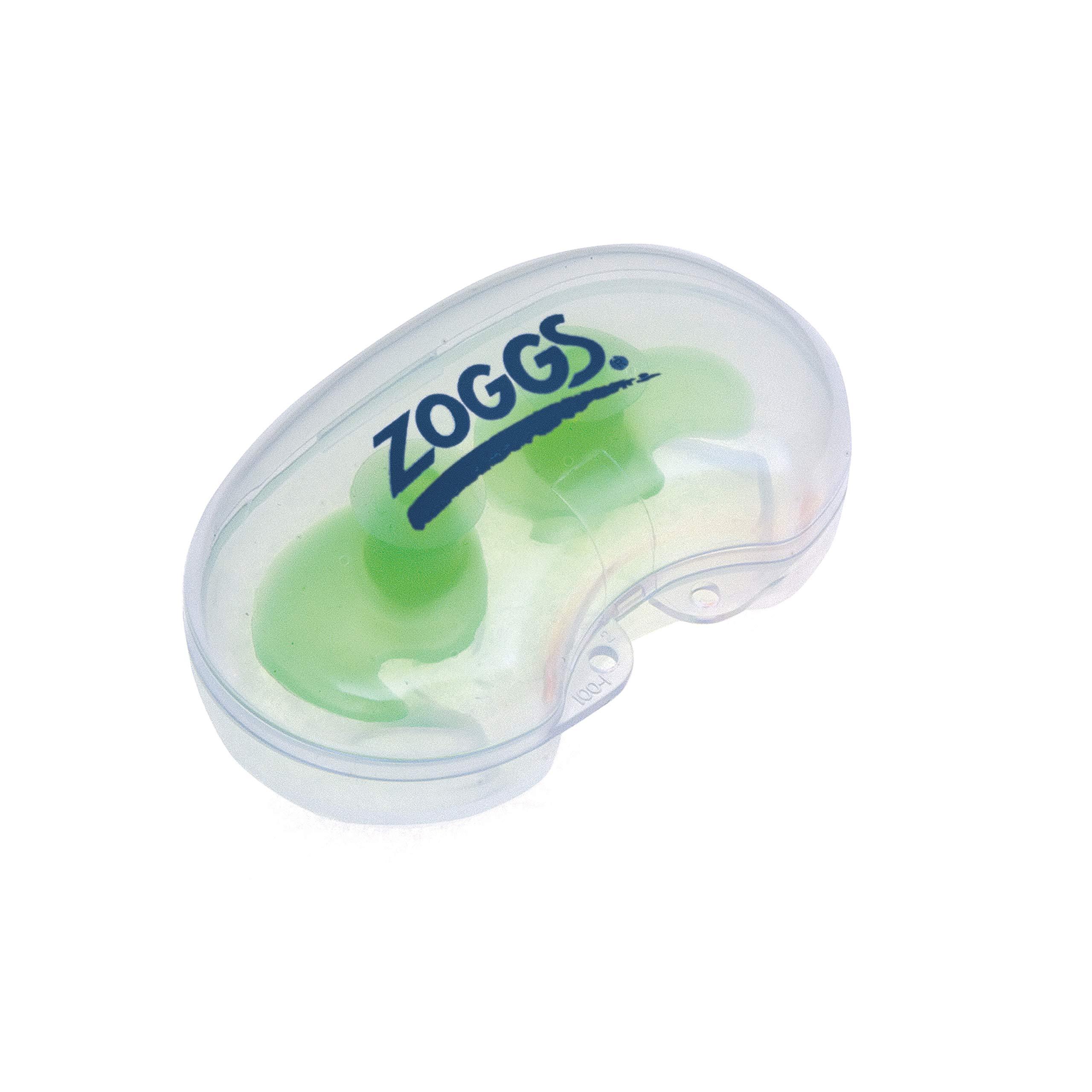 Zoggs Aqua Plugz, Ear Plugs for Swimming, Reusable Silicone Ear Plugs