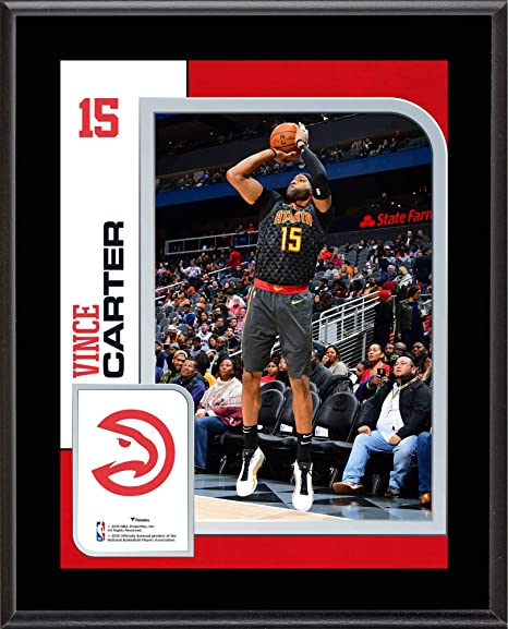 820d426ca Vince Carter Atlanta Hawks 10.5 quot  x 13 quot  Sublimated Player Plaque -  NBA Player Plaques