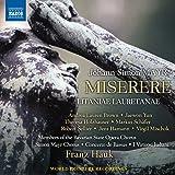 Johann Simon Mayr: Miserere [Members of the Bavarian State Opera Chorus; Simon Mayr Chorus; Concerto de Bassus; Franz Hauk] [Naxos: 8573782]