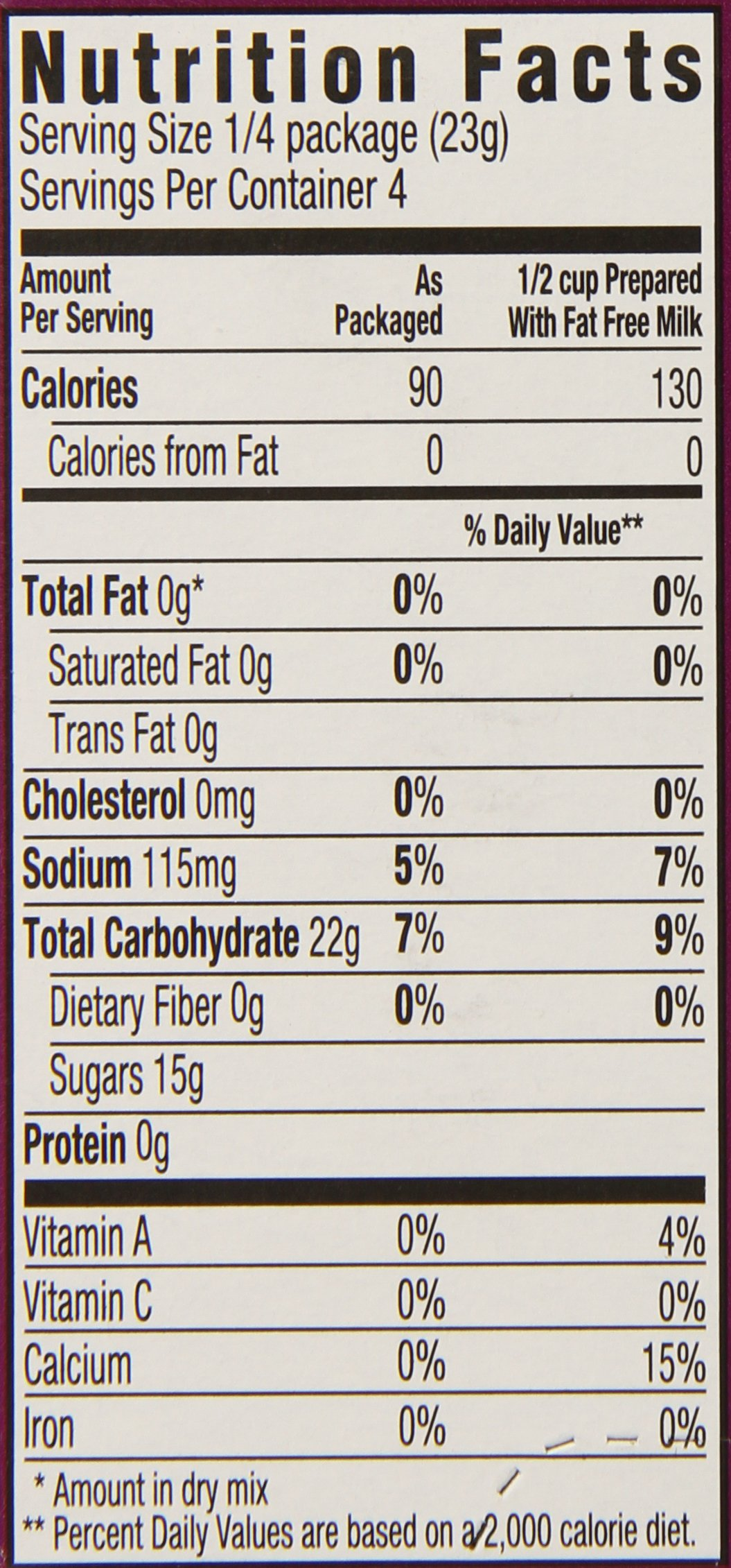 JELL-O Fat Free Tapioca Pudding & Pie Filling Mix (3 oz Boxes, Pack of 24) by Jell-O (Image #2)