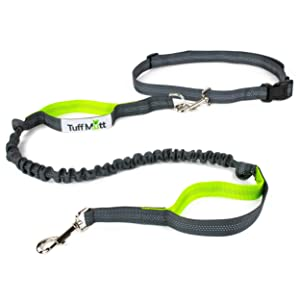 Tuff Mutt - Hands Free Dog Leash for Running, Walking, Hiking