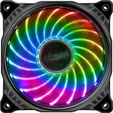 upHere PWM RGB LED Ventilateur pour Boîtiers Dordinateu
