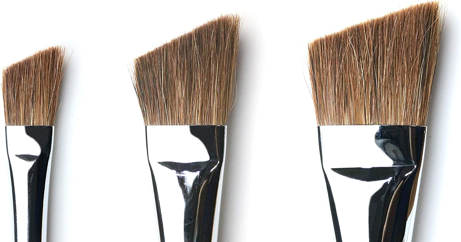 No.2 ~ No.8 Herend Brush Series YF-8900 No.8 for Watercolor with Raccoon Hair//Angled Paintbrush