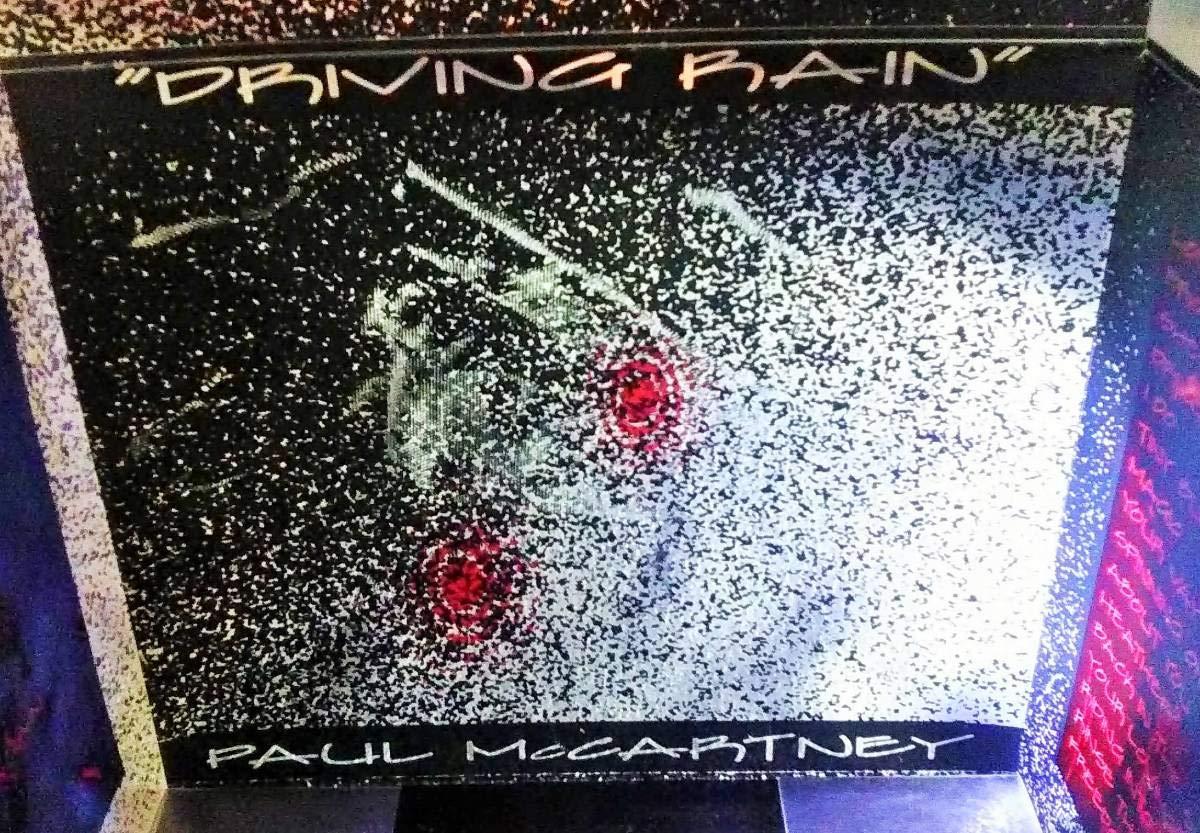 マニア注目! PAUL McCARTNEY DRIVING RAIN レインコート シリアルナンバー入りBOX B07QDNLGBS