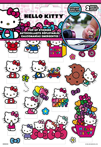 Trends International Hello Kitty   Pop Up Stickers