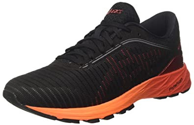 304c117548d1 ASICS Men s s Dynaflyte 2 Training Shoes Black Fiery Red Shocking Orange  9023