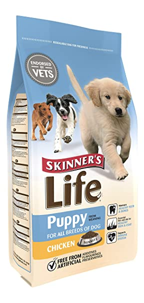 Skinners Life Puppy Chicken Dry Dog Food 2 5 Kg Amazon Co Uk