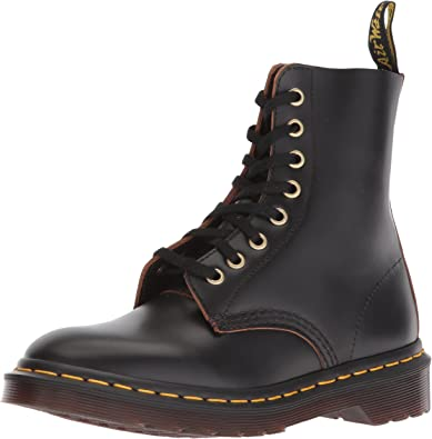 Dr martens pascal 8 eye boot gothic purple antique temperley