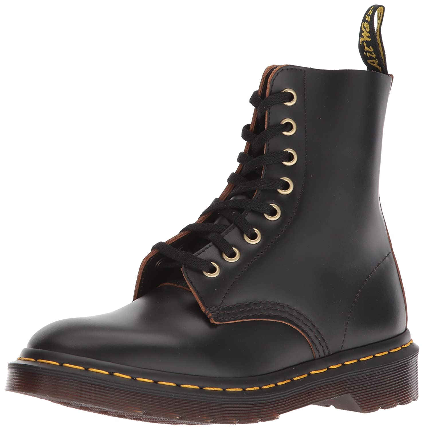 Dr. Martens Pascal B00TYKFWT6 7 M UK (Women's 9, Men's 8 US)|Black Vintage Smooth