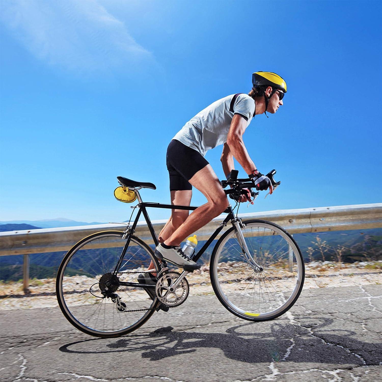 REEHUT Cale/çon de Cyclisme Homme Shorts Cyclisme Cale/çon de V/élo VTT Cuissard Cycliste 3D Confortable S/échage Rapide S-XXXL Noir