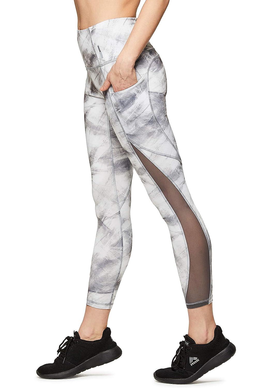 90080336dd585 Amazon.com: RBX Active Women's Printed Running Workout Yoga Leggings ...
