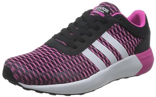 adidas Cloudfoam Race W, Zapatillas de Deporte Interior para Mujer, Negro (Black), 38/39 EU: Amazon.es: Zapatos y complementos
