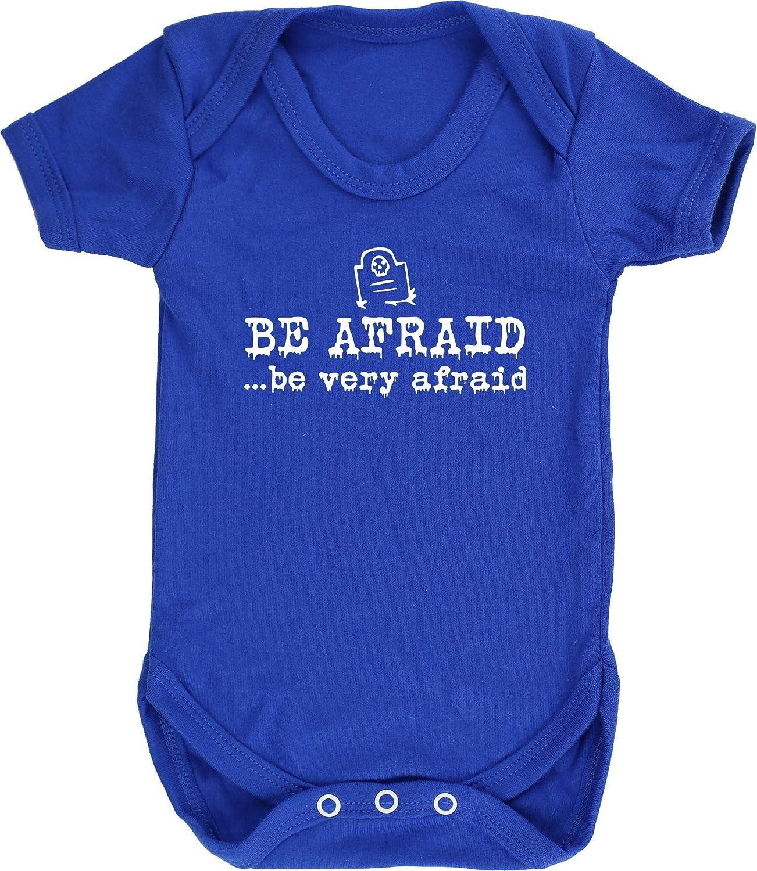 Hippowarehouse Be Afraid .be Very Afraid Baby Vest Bodysuit Short Sleeve Boys Girls