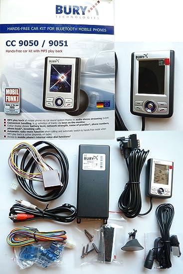 Bury Cc9050 Bluetooth Hands Free Kit Elektronik