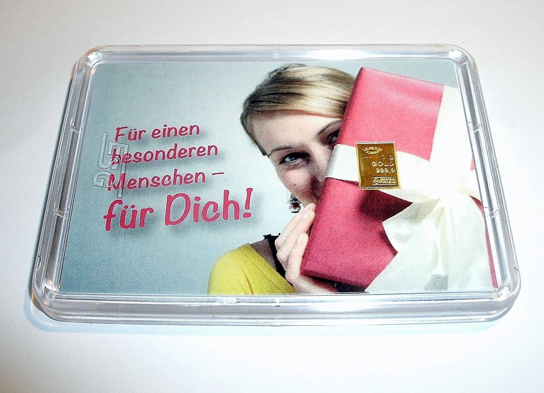 1g 1g 1g Goldbarren 999,9 FeinGold in Motivbox  Für einen besonderen Menschen, für Dich  B00I7TZ6LY | Spezielle Funktion  0bb3b1