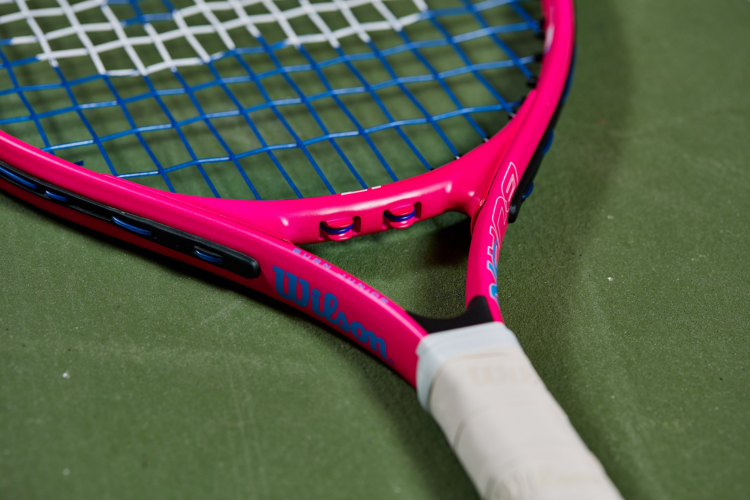 Wilson Junior Burn 19 Tennis Racquet, Pink by Wilson (Image #5)
