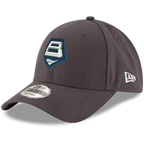 Amazon.com : Baltimore Brigade New Era Basic 9FORTY Adjustable Hat Graphite : Sports & Outdoors
