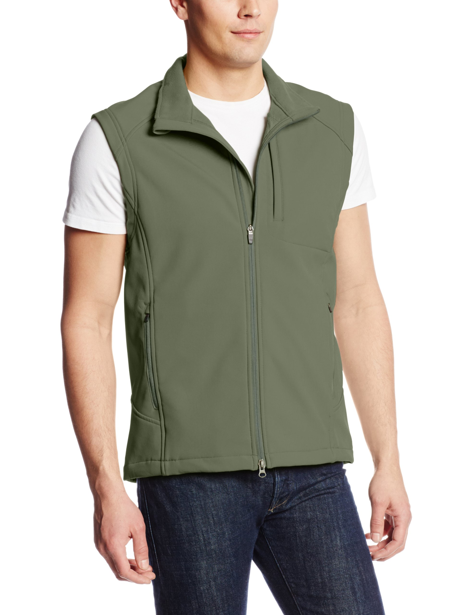 Propper Men's Icon Softshell Vest, Olive, Large by Propper