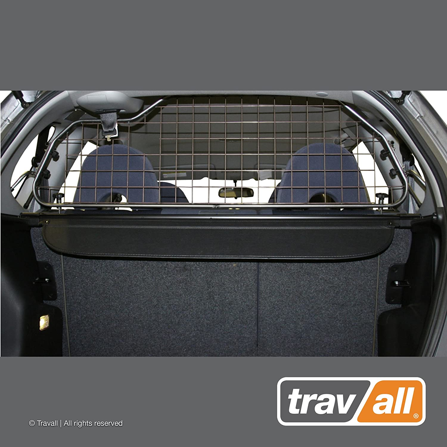 Travall Guard Compatible with Honda Fit 2001-2008 TDG1171 – Rattle-Free Steel Pet Barrier