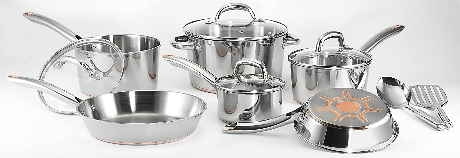 Best affordable stainless steel cookware. T-Fal C836SC Ultimate Stainless Steel Cookware Set
