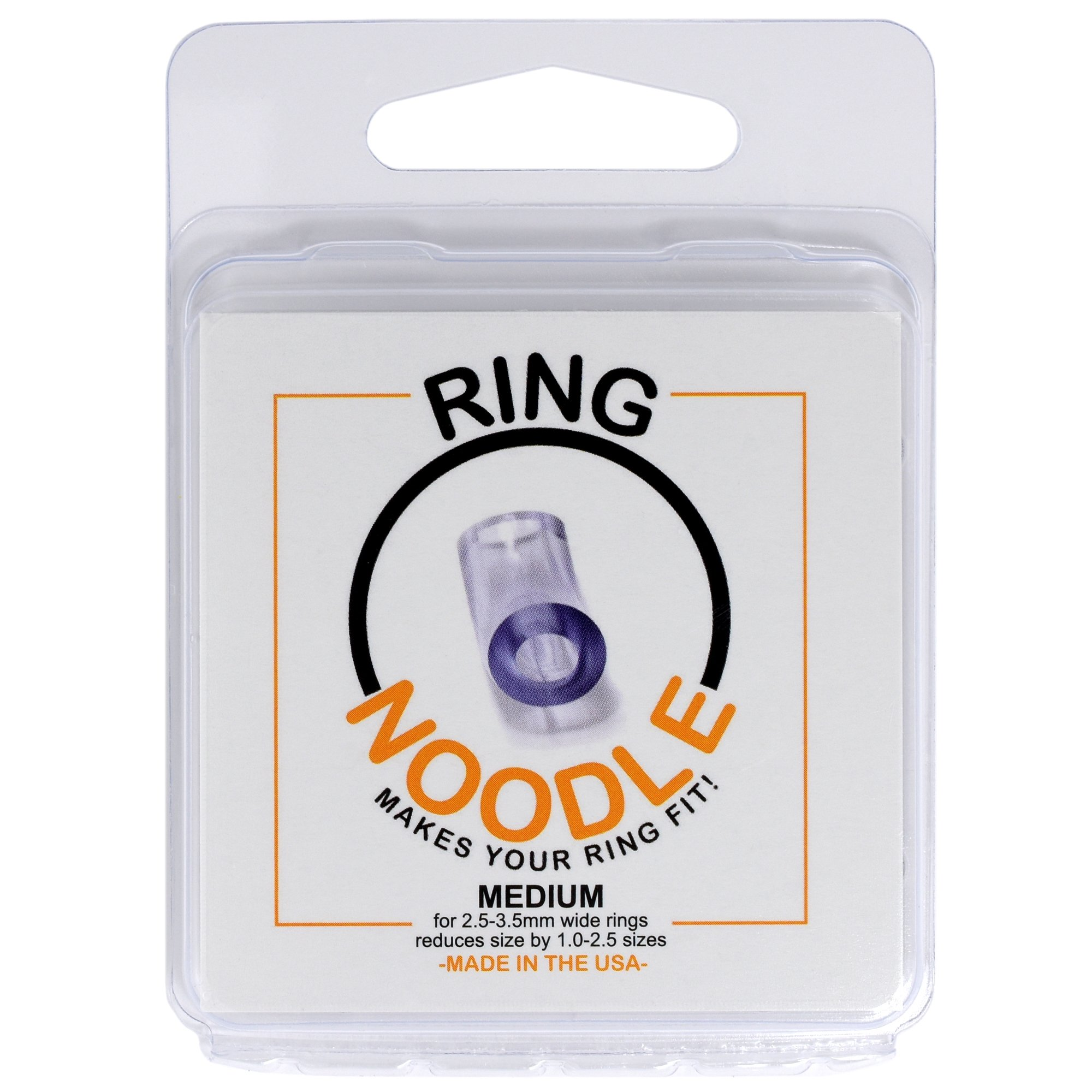 RING NOODLE Ring Guard by 12 pack (MEDIUM) - Easy Ring Adjuster