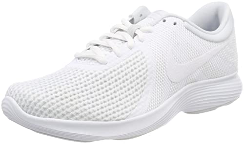 Nike Women's Revolution 4 EU Running Shoes, Off White, 3.5 UK