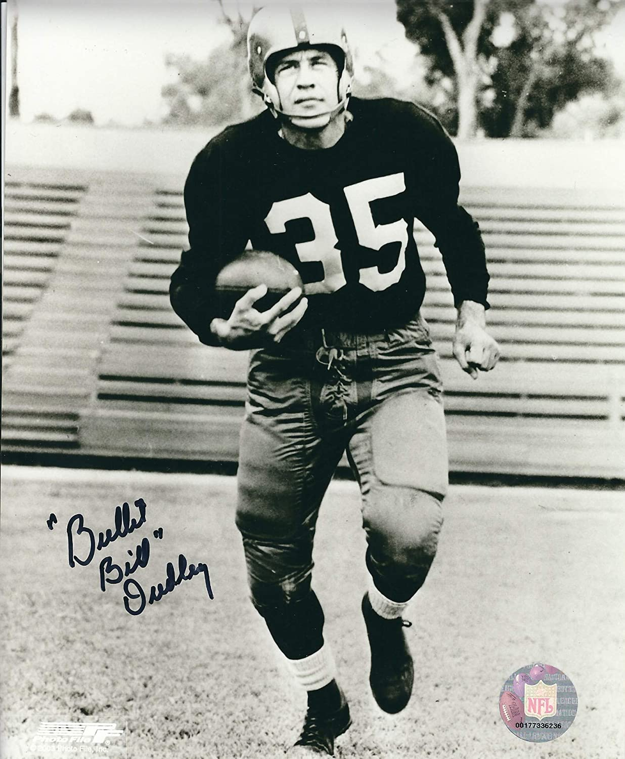 Autographed Bill Dudley 8x10 Pittsburgh Steelers Photo