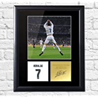Cristiano Ronaldo Signed montiert Foto Display Real Madrid Portugal, FRAMED
