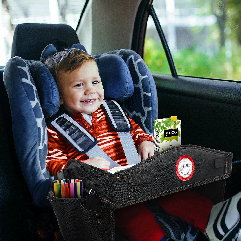 Premium Black Travel Tray Ideal As Kids Toddler Baby