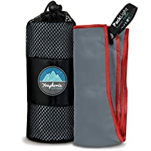 Youphoria Outdoors Microfiber Quick Dry Travel Towel - Ideal Fast Drying Towels for Travel