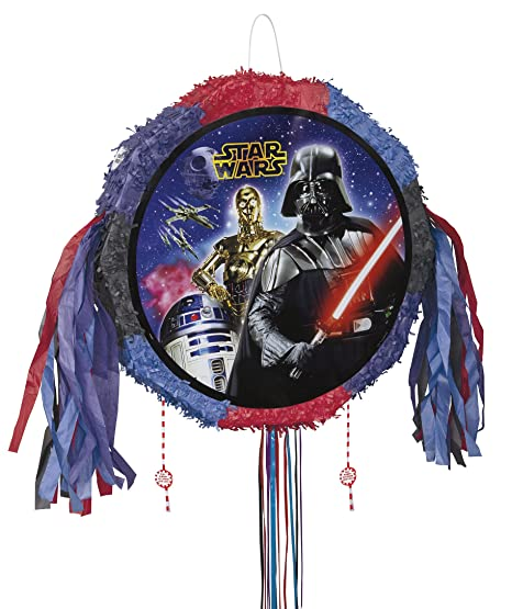 Unique Party Star Wars Tire Cadena Piñata: Amazon.es ...