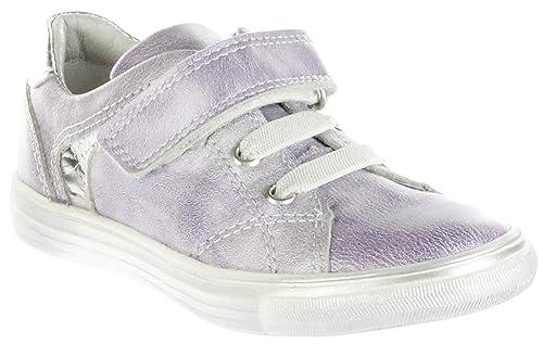 best sneakers f838e 0a8d6 Richter Kinder Halbschuhe lila Metallicleder Mädchen Schuhe 3133-735-4001  Fedora