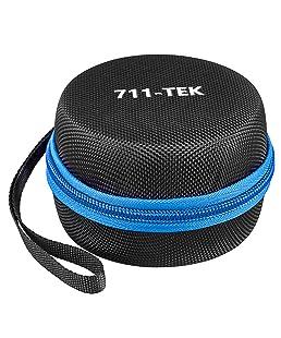 711-TEK Hard Case for Smart Bluetooth Speaker,Portable Carrying Travel Echo Dot Case (2nd Generation) black