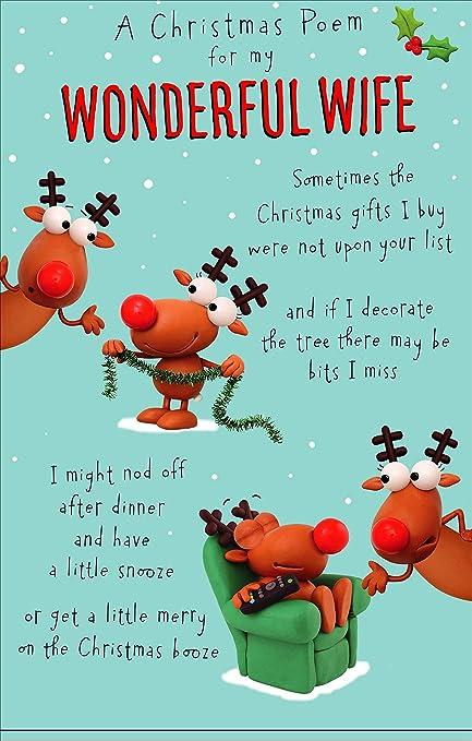 Hanson 613901 - Tarjeta de felicitación navideña, diseño de ...