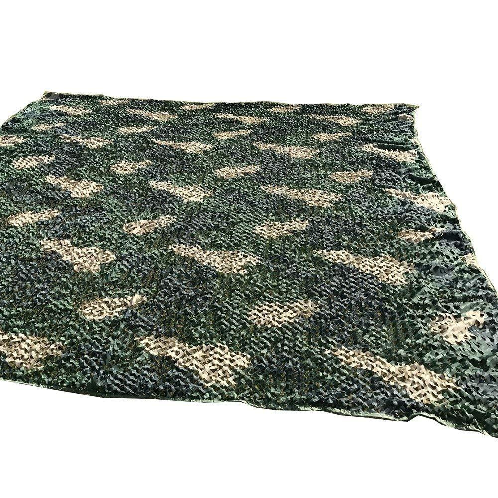45m BÂche de Tente Wild Mode Camouflage Net Camping Tente de pêche Défense extérieure en Plein air portable Filet de Prougeection Multi-Taille en Option (Taille  4  4m) Filet de Camouflage Camouflage voiturel