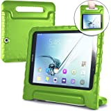 Cooper Dynamo [Rugged Kids Case] Protective Case for Samsung Tab S2 9.7 | Child Proof Cover Stand, Handle | T810 T811 T813 T815 T817 T819 (Green)