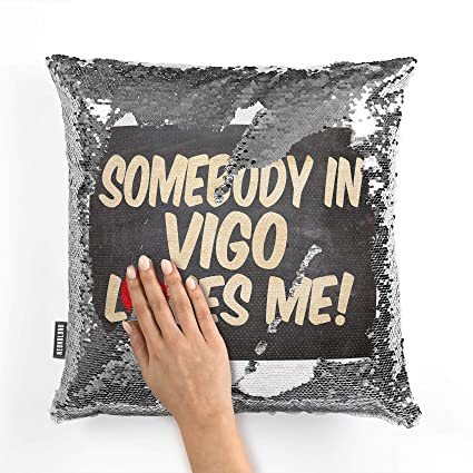 Amazon.com: NEONBLOND Mermaid Pillow Cover Somebody in Vigo ...