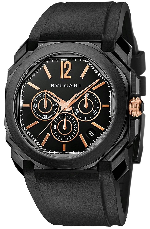 Bulgari Octo Automatic 41mm Mens Watch 102630 BGO41BBSVDCH