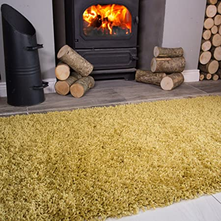 The Rug House Ontario Ochre Mustard Yellow Gold Fireside Fireplace ...