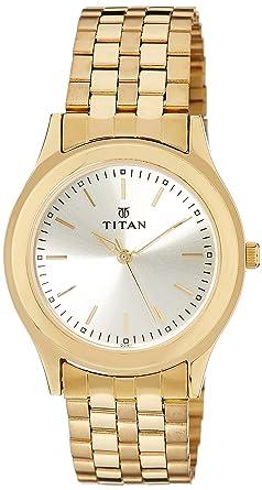 fe7404eb3 Buy Titan Analog Gold Dial Men s Watch -NJ1648YM02C Online at Low ...